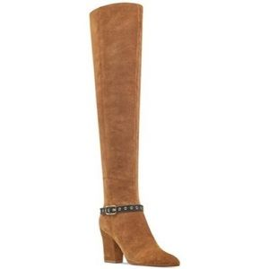 NWB Nine West Suede over the knee boots